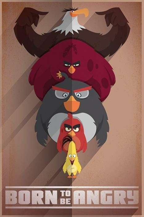 Angry Birds (Born to be Angry) - P348