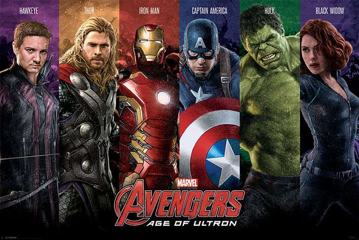 Avengers: Age Of Ultron (Team) - P94