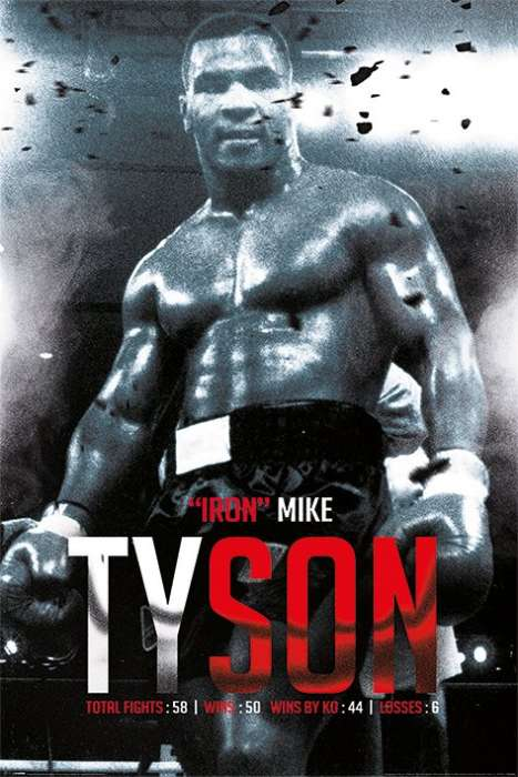 Mike Tyson (Boxing Record) - P356