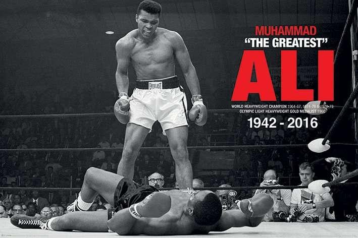 The Muhammad Ali (V Liston Landscape) - P355