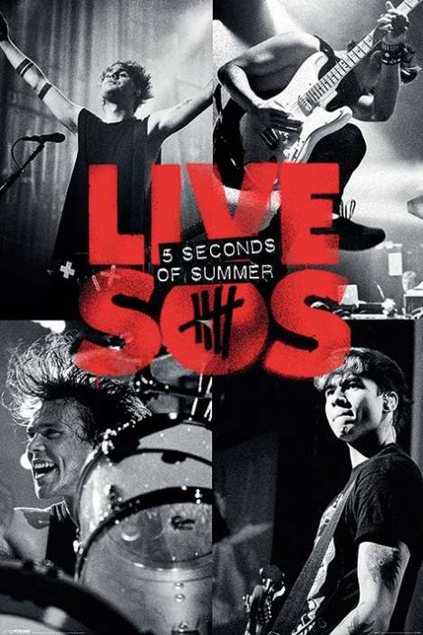 5 Seconds Of Summer (Live) - P306