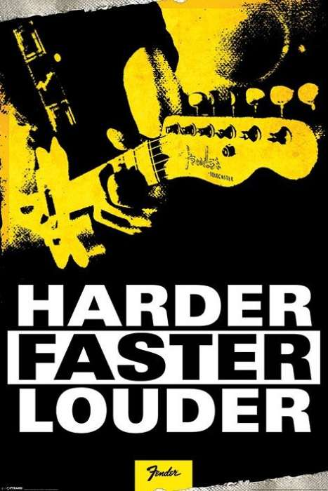 Fender (Harder, Faster, Louder) - P12