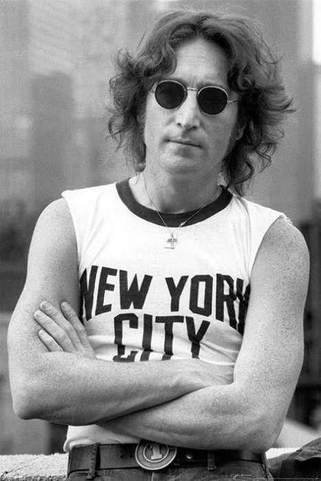 John Lennon (NYC - Bob Gruen) - P342