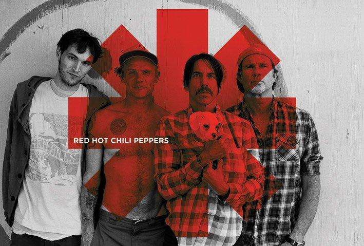 Red Hot Chili Peppers (Red Asterisk) - P340