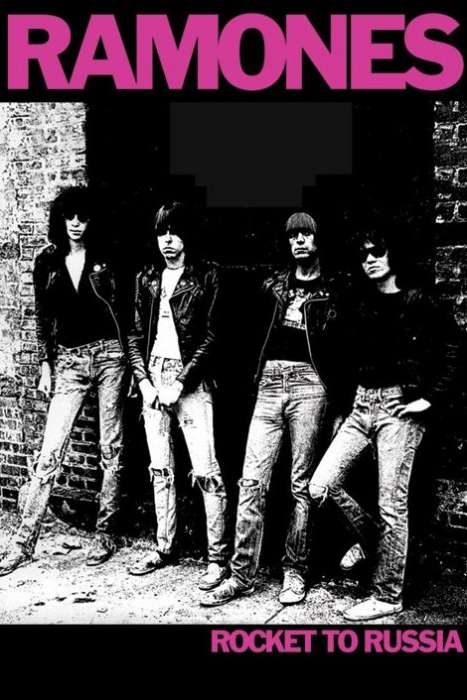 THE RAMONES (ROCKET TO RUSSIA) - P63