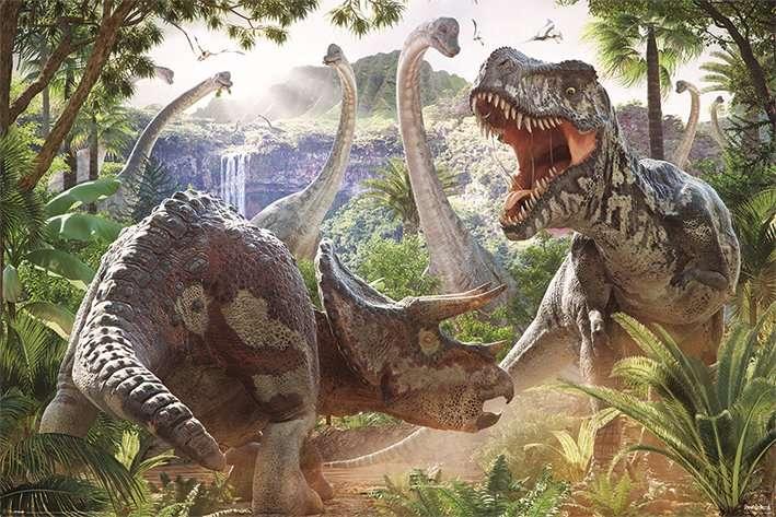 Dinosaur Battle - P363