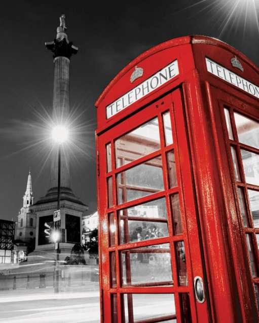 Red Telephone Box (Trafalgar Square)