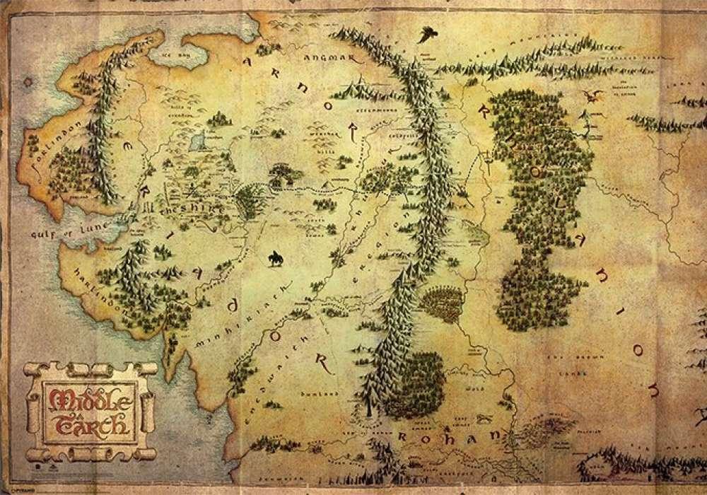 THE HOBBIT (JOURNEY MAP) - P149