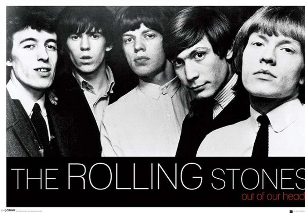 ROLLING STONES (OUT OF OUR HEADS) - P55