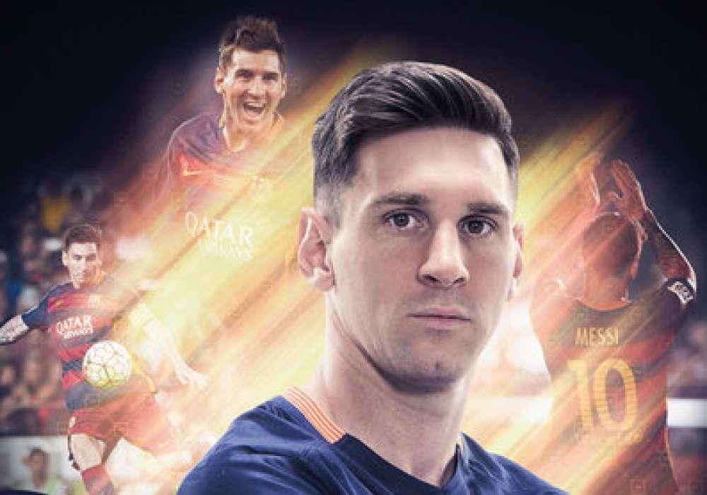 Messi, Barcelona - P323