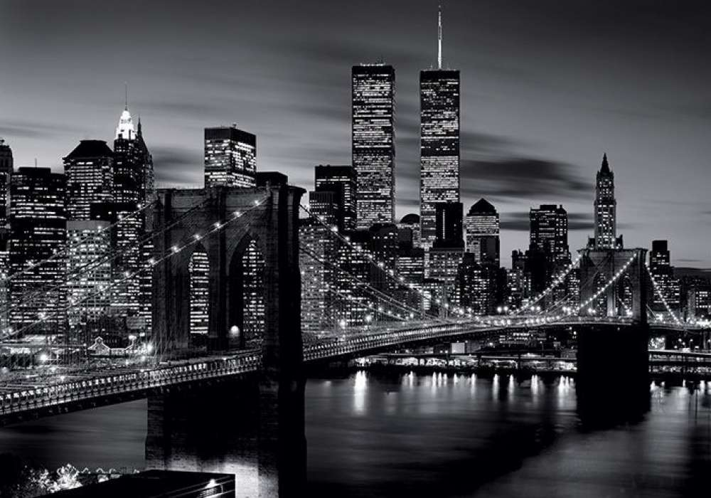 Brooklyn Bridge (B&W) - P220