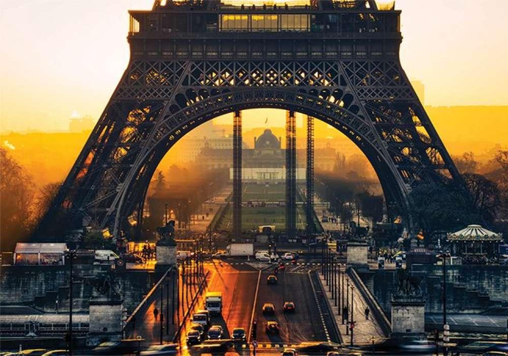Eiffel Sunrise - P368