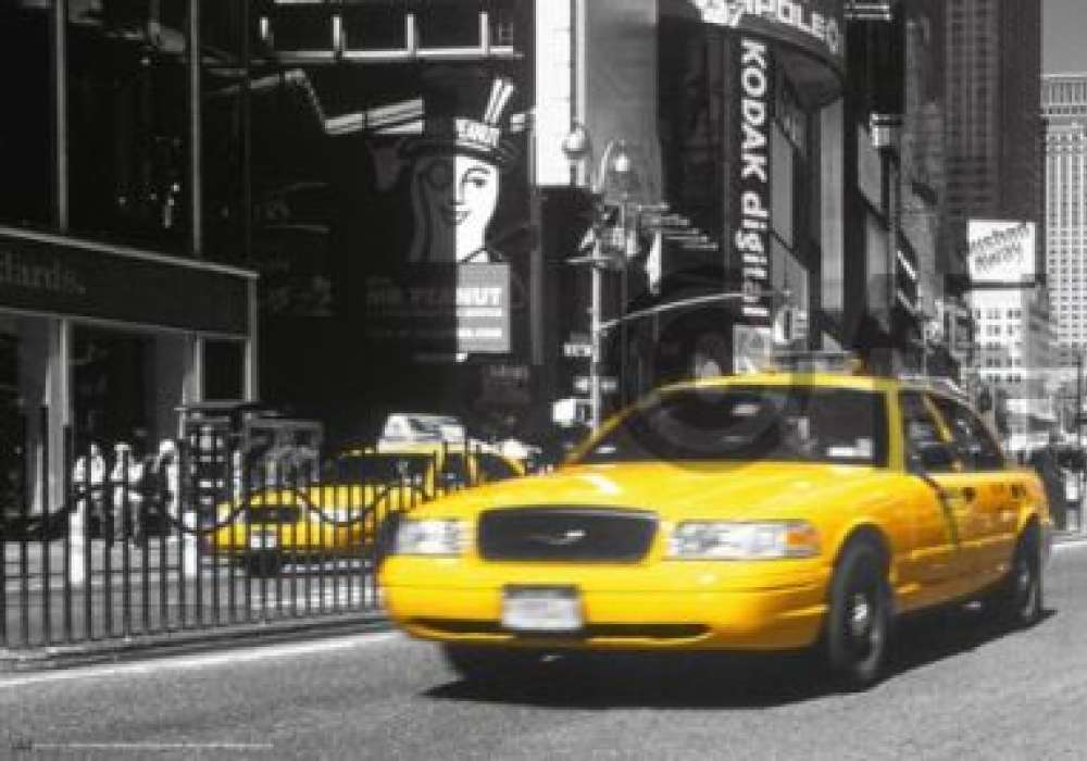 NEW YORK Yellow cab - P240