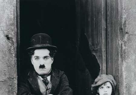Charlie Chaplin (Doorway) - P106
