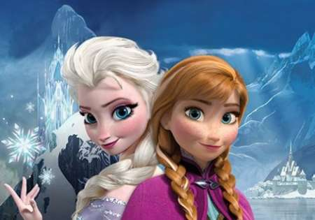 FROZEN (ANNA AND ELSA)
