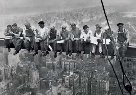 Lunch On A Skyscraper - P231