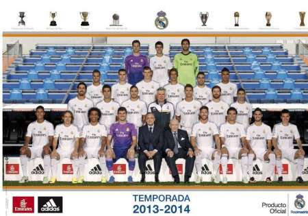 REAL MADRID team 2013-14 - P169