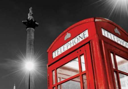 Red Telephone Box (Trafalgar Square)