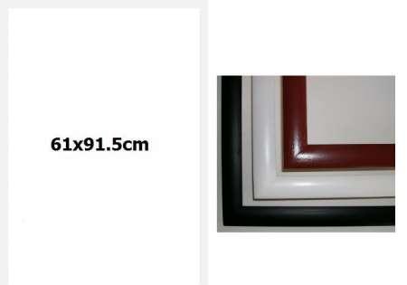 Рамка 61x91.5cm - бяла - Безплатна Доставка