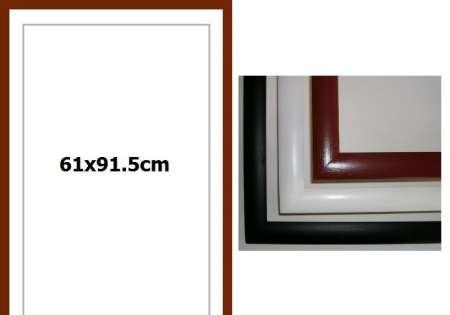Рамка 61x91.5cm - кафява - -Безплатна Доставка