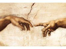 MICHELANGELO BUONARROTI - creation hands