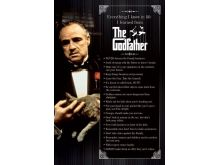 Godfather  - Rules - P122