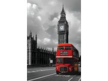 London Red Bus - P228