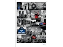 Paris (Collage) - P242