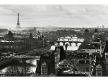 Paris View (B&W) - P246