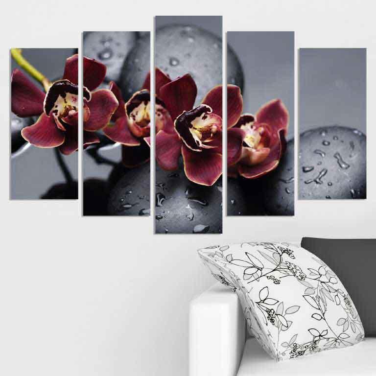 пано за стена - орхидея