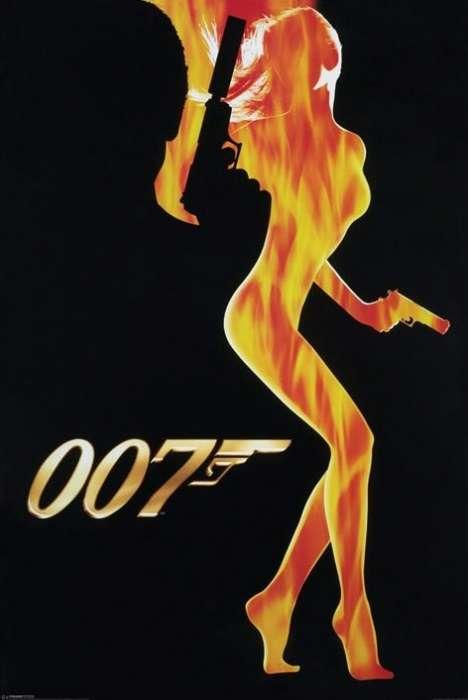 James Bond (Flame Girl)