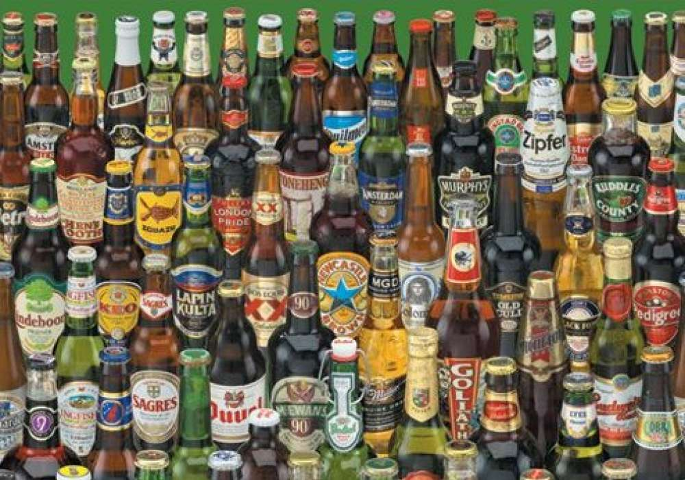 Life Is Full Of Difficult Decisions (Beer Bottles)