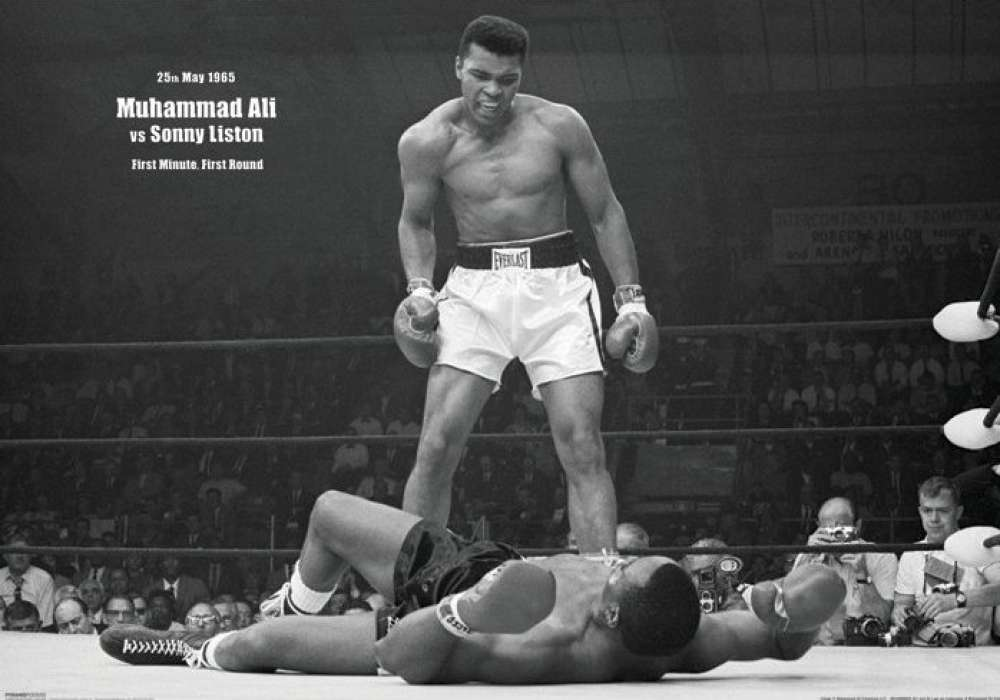 The Muhammad Ali (V Liston Landscape)