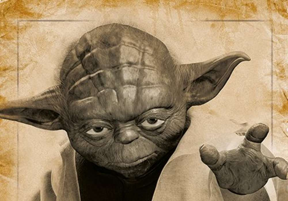 Star Wars (Yoda, May The Force Be With You)