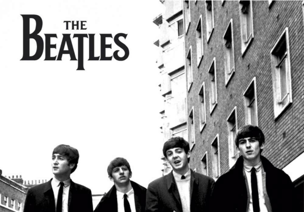 THE BEATLES in london