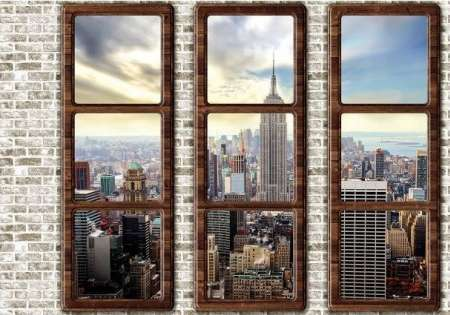 Window wall New York - For Wall