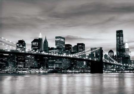 NEW YORK B&W - For Wall