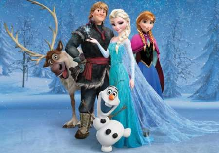 Frozen - For Wall