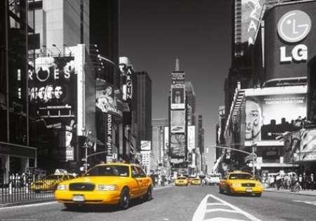 Yellow cab N.Y.
