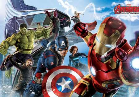 Avengers: Age Of Ultron (Re-assemble)