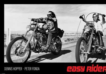 EASY RIDER (HOPPER & FONDA)