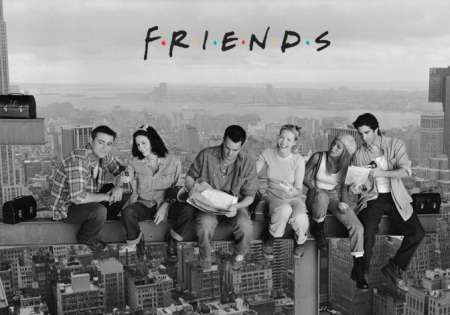 Friends (Lunch On A Skyscraper)