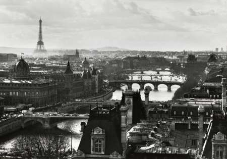 Paris View (B&W)